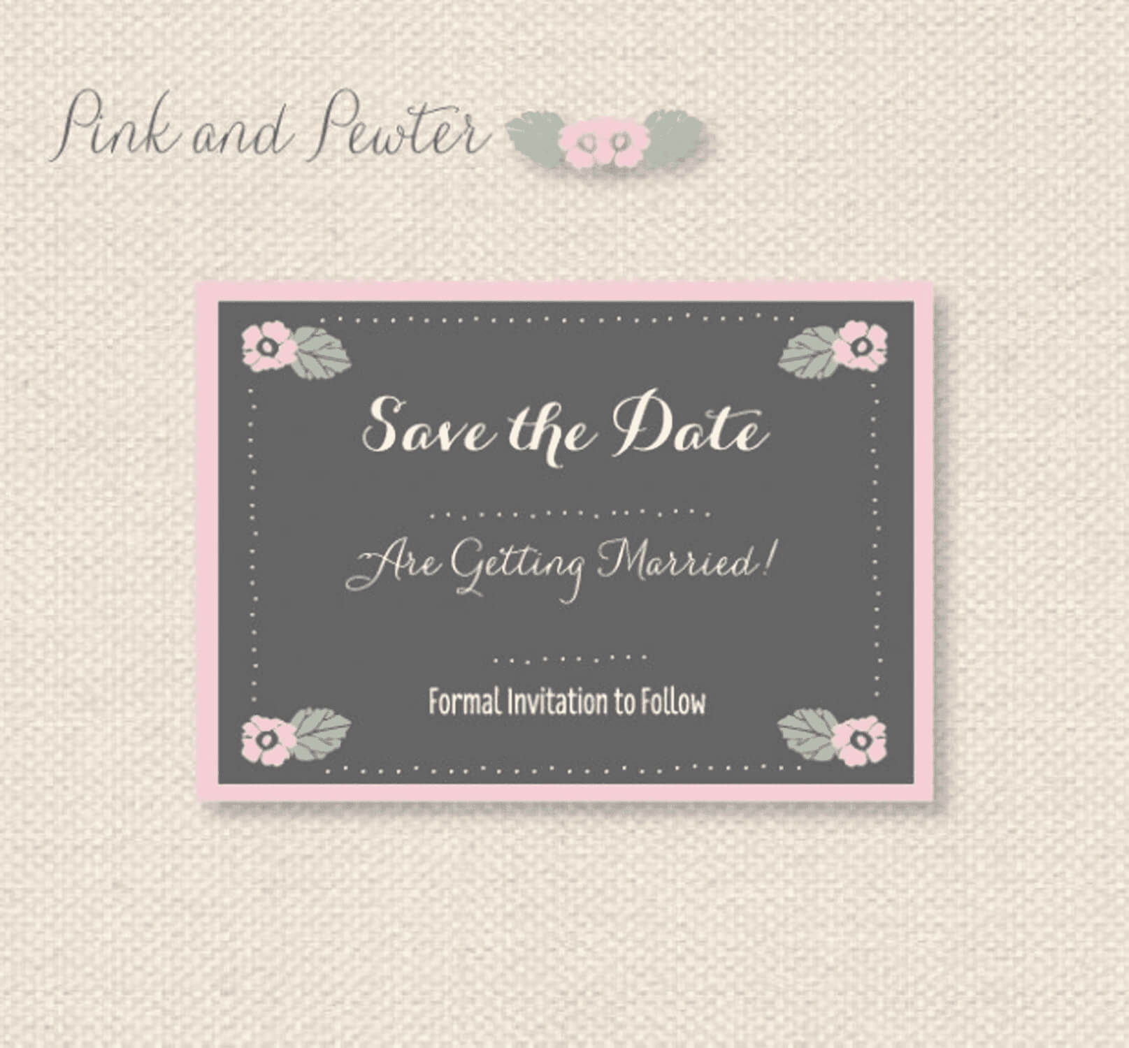 11 Free Save The Date Templates With Save The Date Powerpoint Template