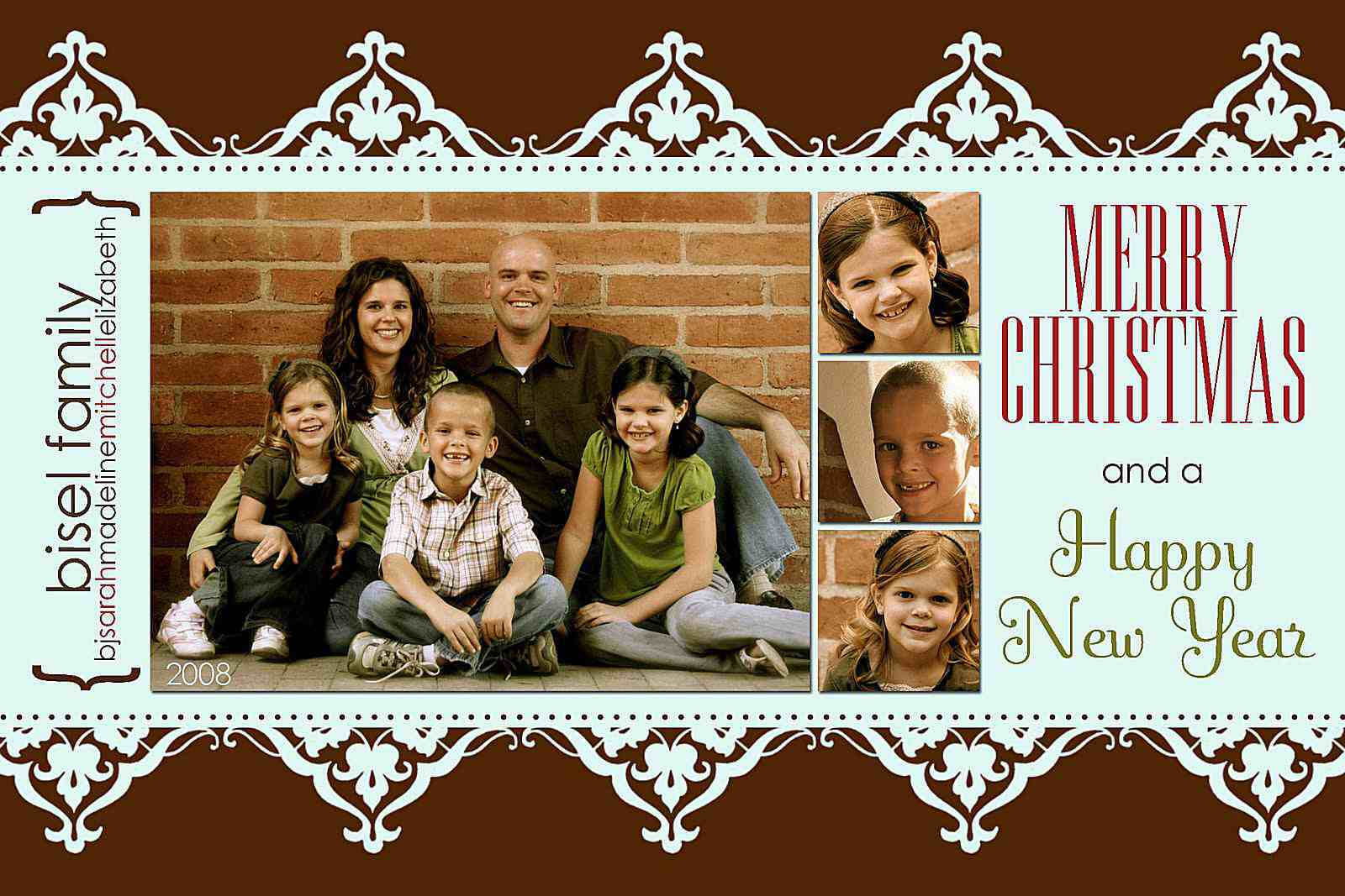 11 Free Templates For Christmas Photo Cards Within Free Photoshop Christmas Card Templates For Photographers