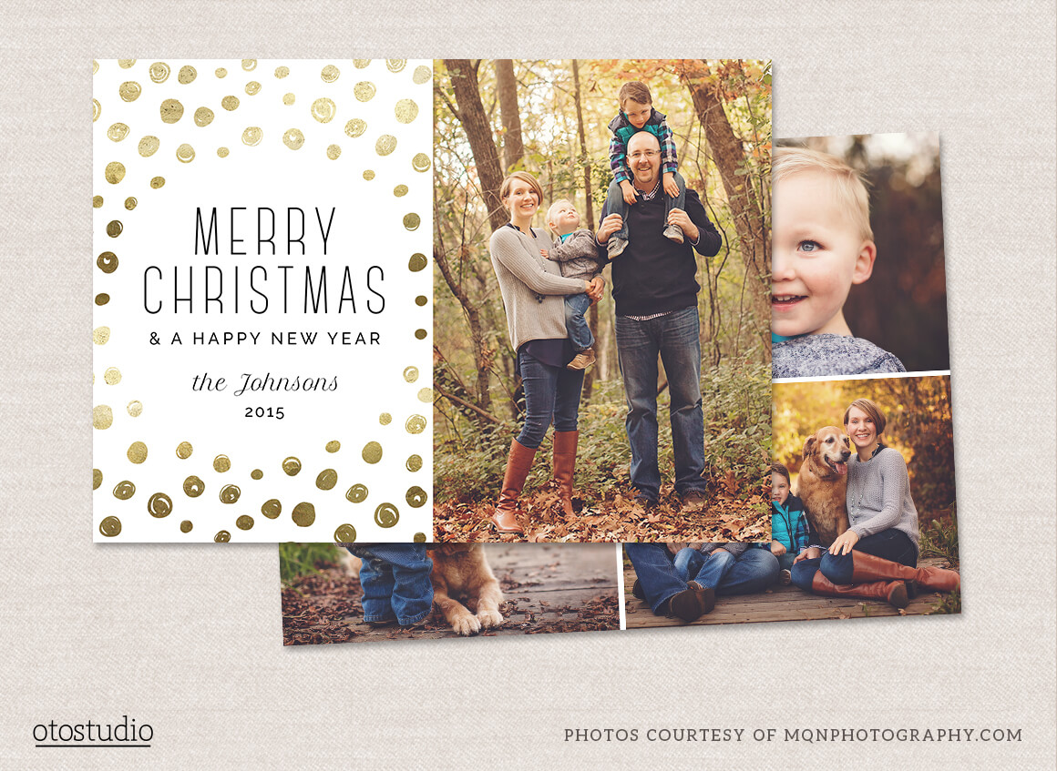 12 Christmas Card Photoshop Templates To Get You Up And For Free Photoshop Christmas Card Templates For Photographers