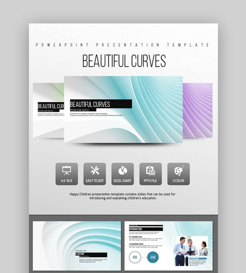 20 Beautiful Powerpoint (Ppt) Presentation Templates With For Pretty Powerpoint Templates