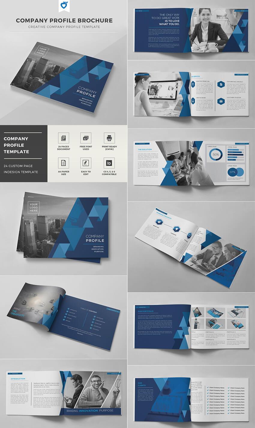 20 Кращих Шаблонів Indesign Brochure - Для Творчого With Regard To Brochure Template Indesign Free Download