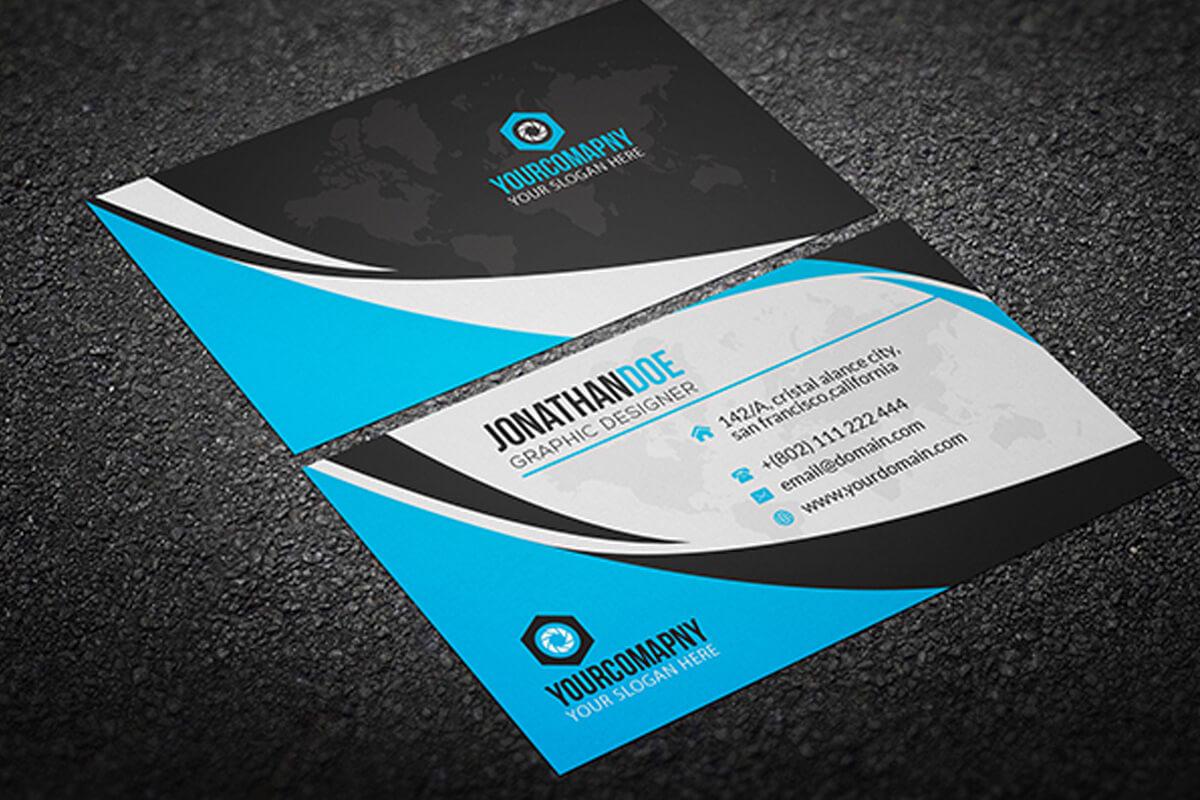 200 Free Business Cards Psd Templates - Creativetacos Pertaining To Calling Card Psd Template