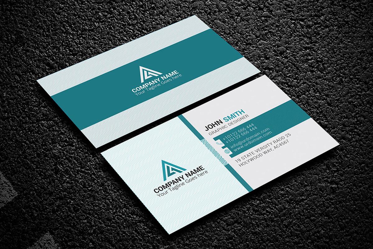 200 Free Business Cards Psd Templates - Creativetacos Regarding Calling Card Psd Template