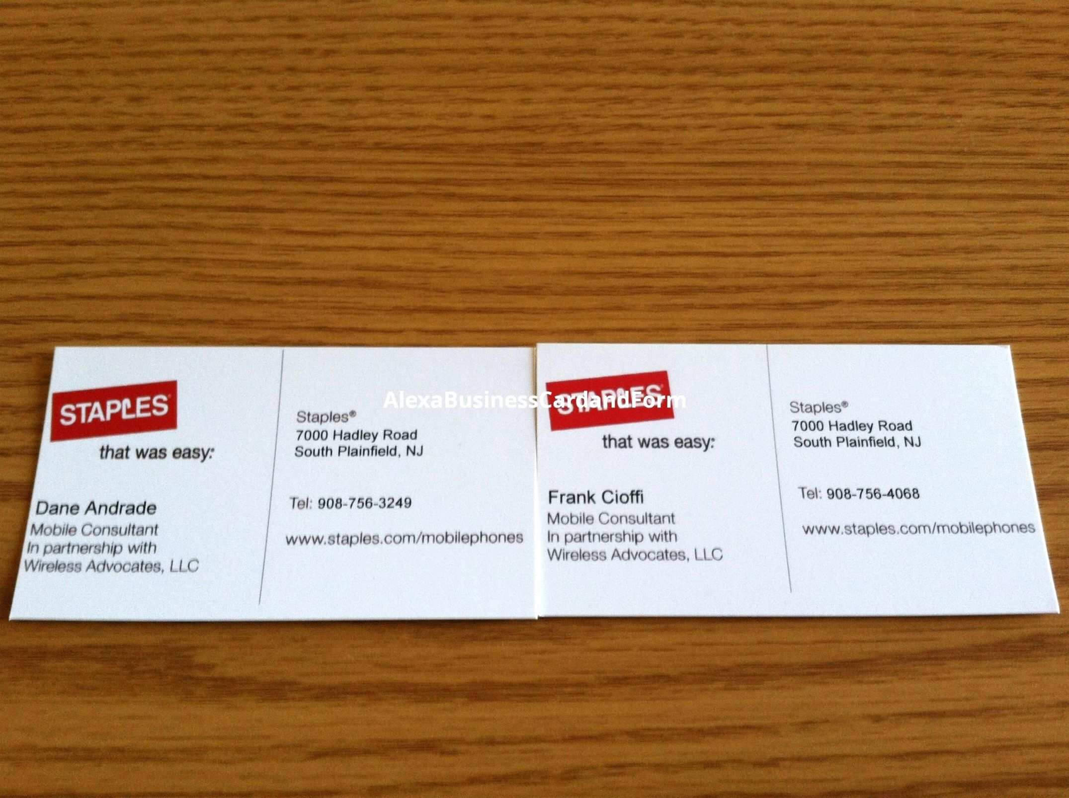 24 Online Staples Business Card Template Download For Ms Intended For Staples Business Card Template