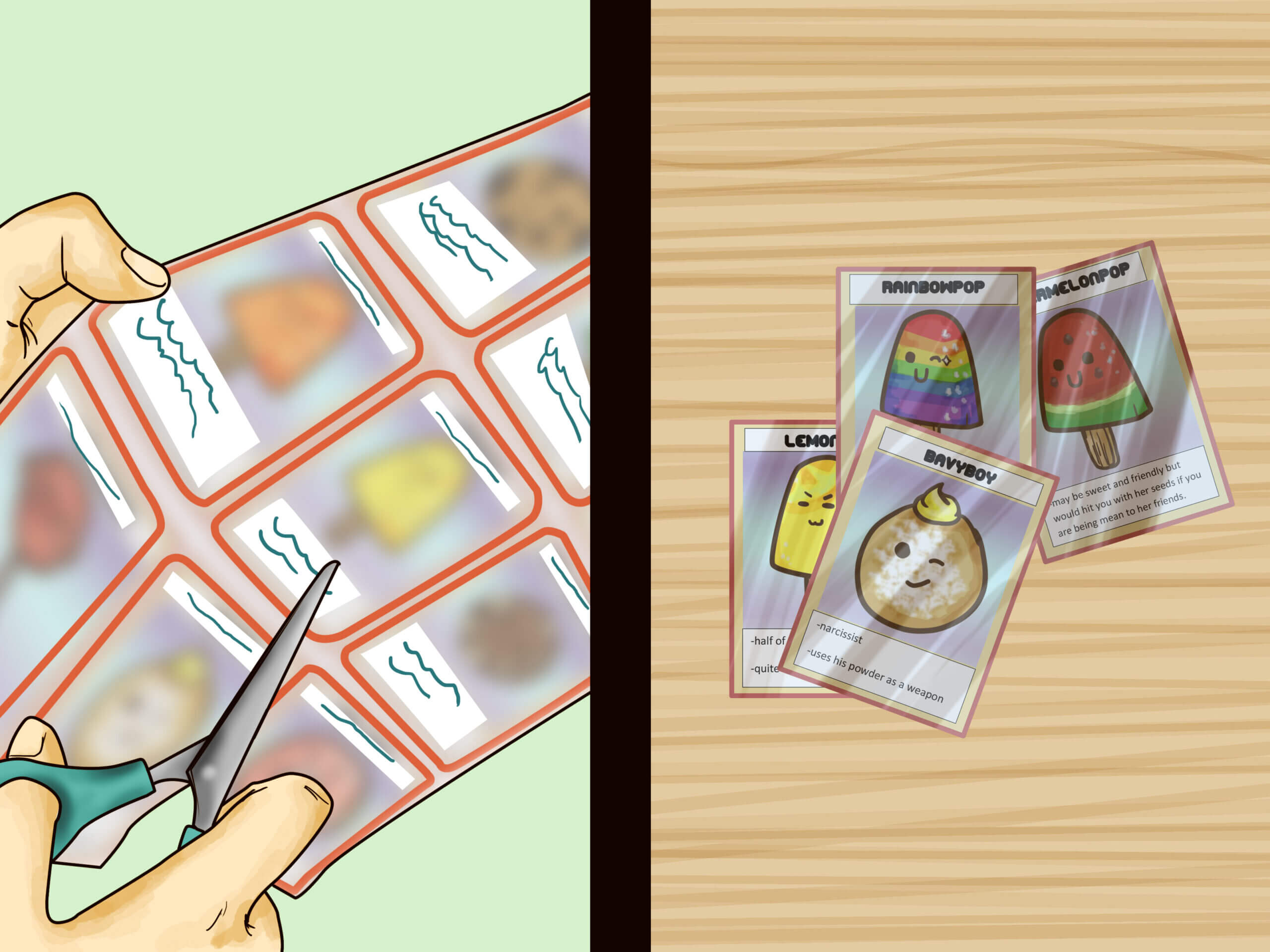 3 Ways To Make Your Own Trading Cards – Wikihow Pertaining To Index Card Template Open Office