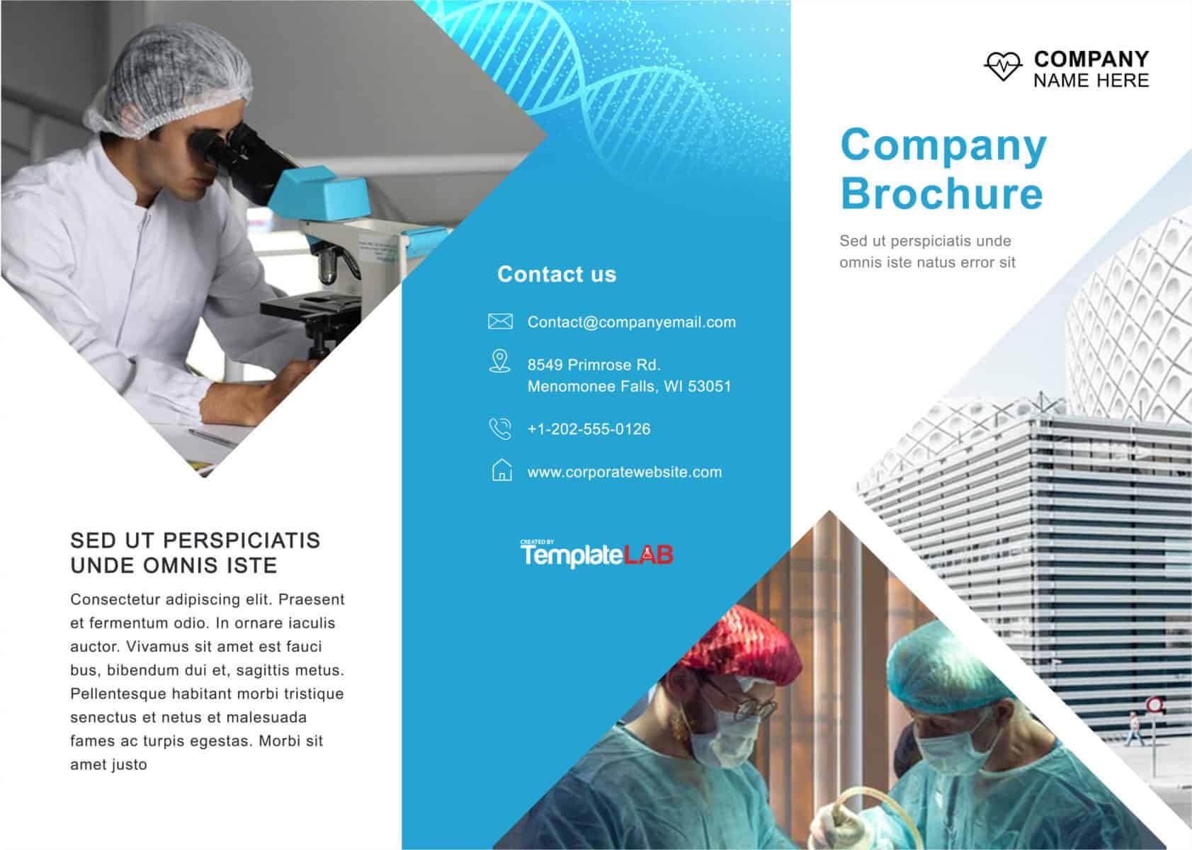 33 Free Brochure Templates (Word + Pdf) ᐅ Templatelab Pertaining To Engineering Brochure Templates Free Download