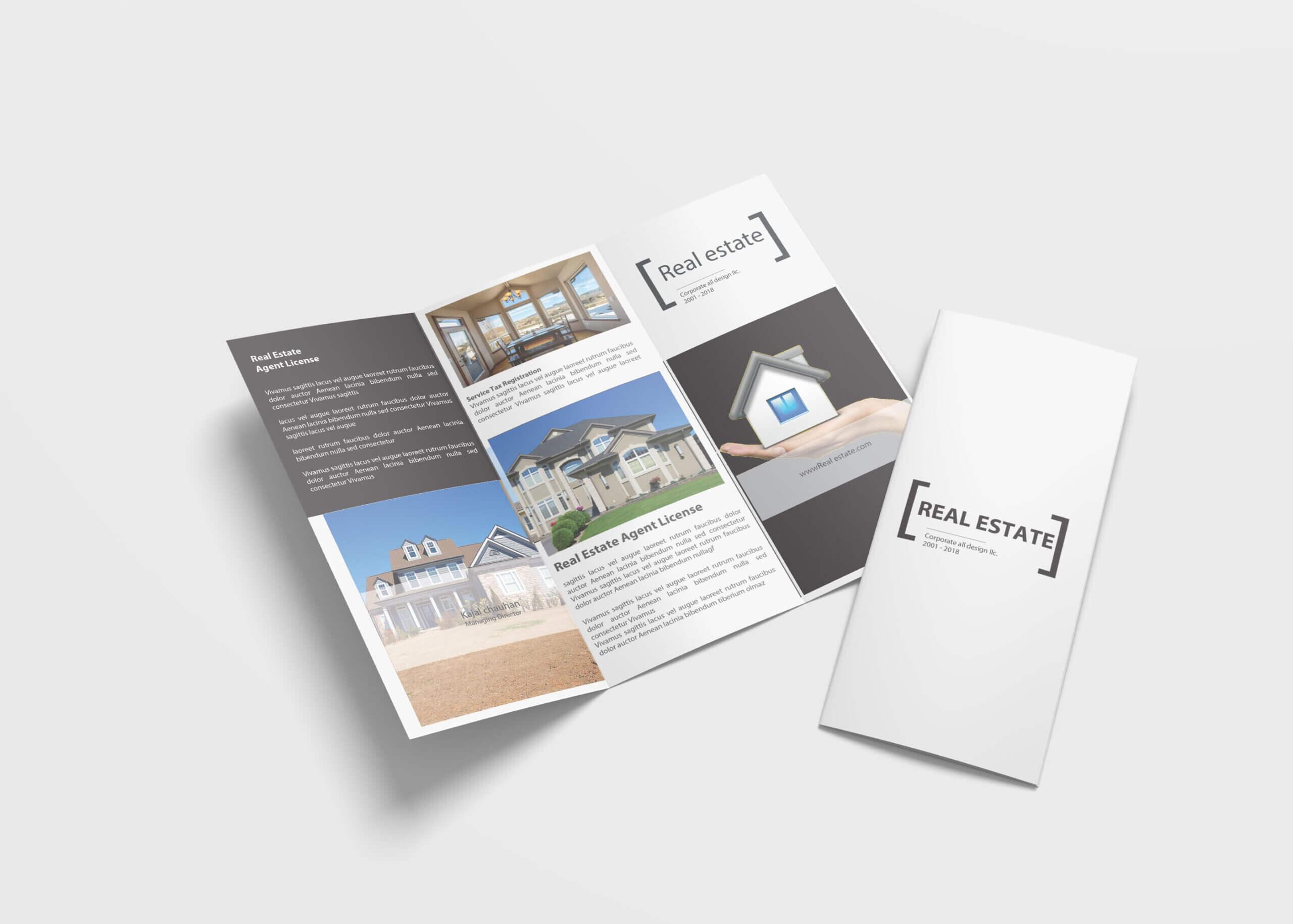 4 Fold Brochure Design – Yeppe.digitalfuturesconsortium With 4 Fold Brochure Template