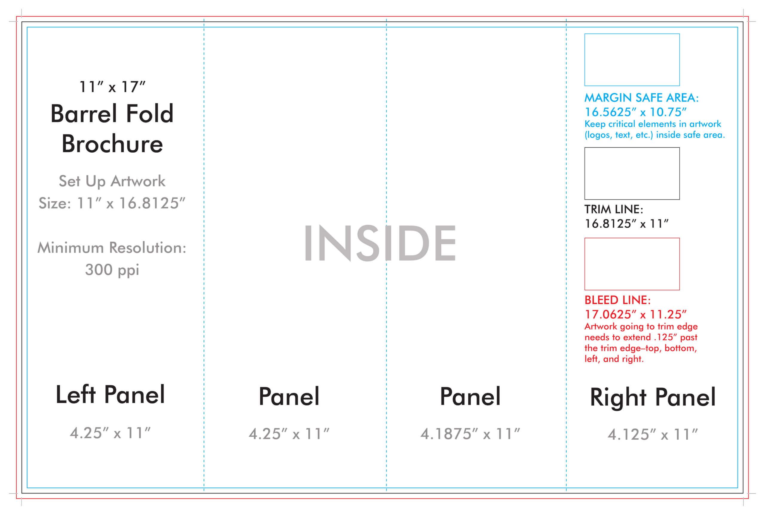 4 Fold Brochure Template - Calep.midnightpig.co For Brochure 4 Fold Template