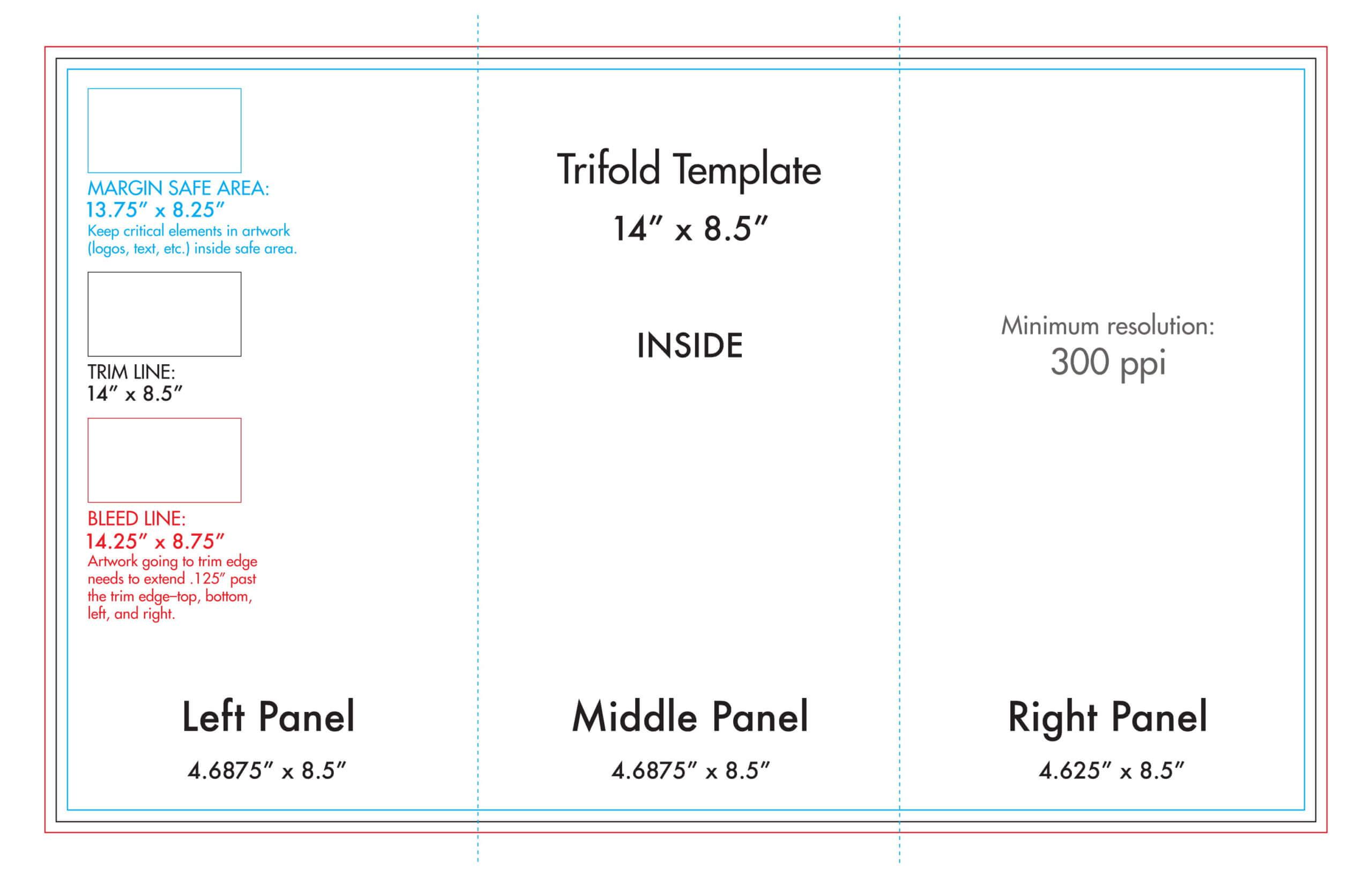 4 Fold Brochure Template – Calep.midnightpig.co Throughout 4 Fold Brochure Template