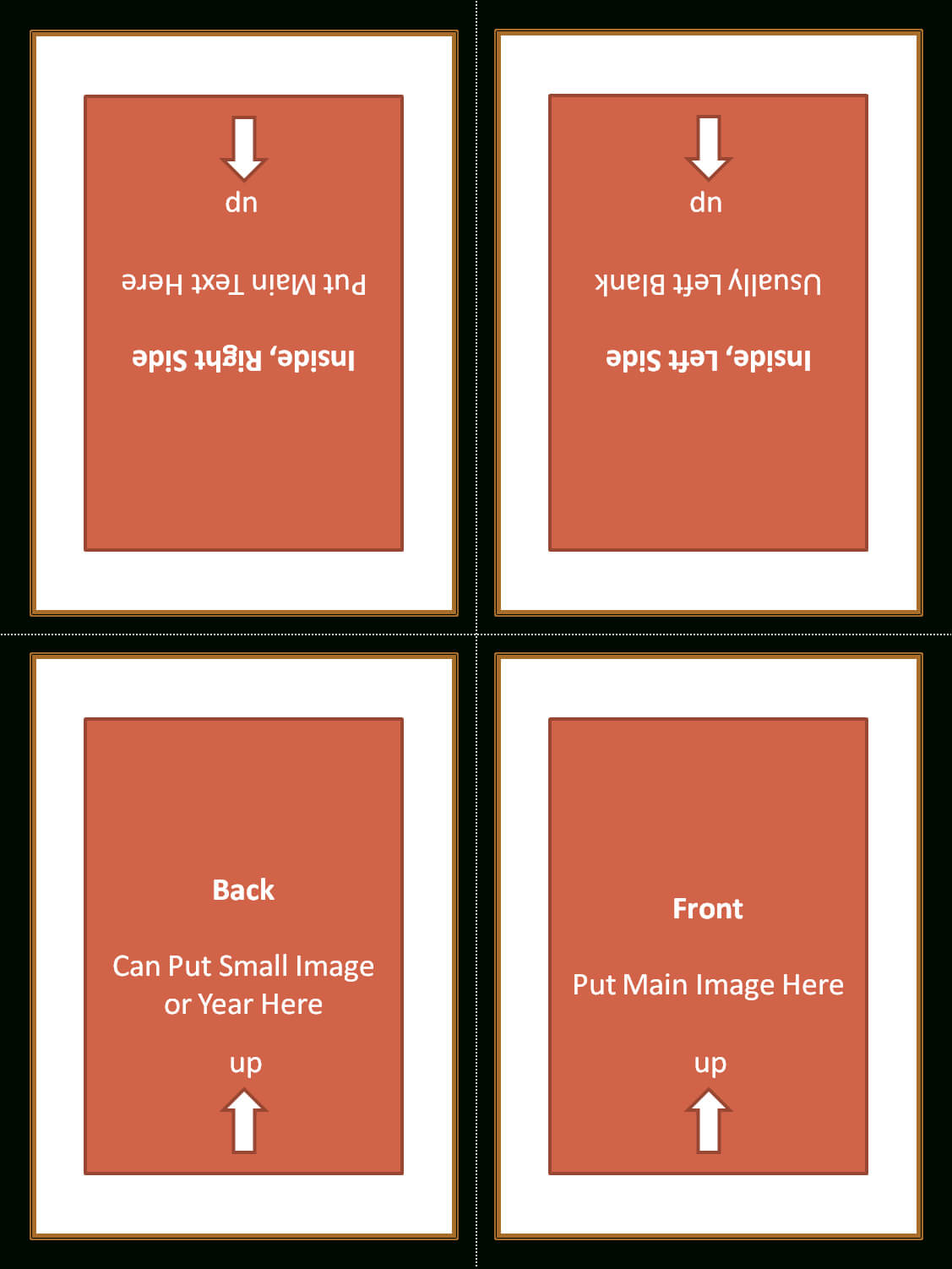 4 Fold Card Template ] - Alfa Img Showing Gt Foldable Pertaining To Quarter Fold Birthday Card Template