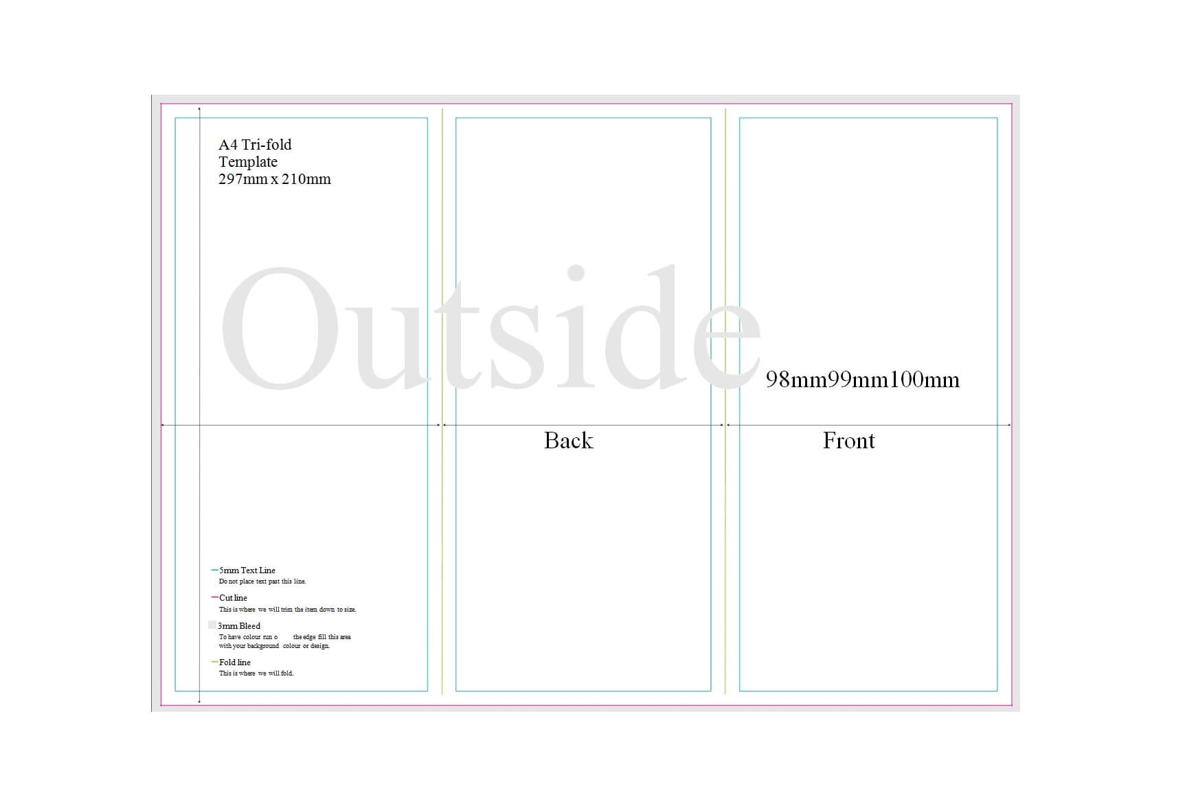 50 Free Pamphlet Templates [Word / Google Docs] ᐅ Templatelab With Regard To Brochure Template For Google Docs