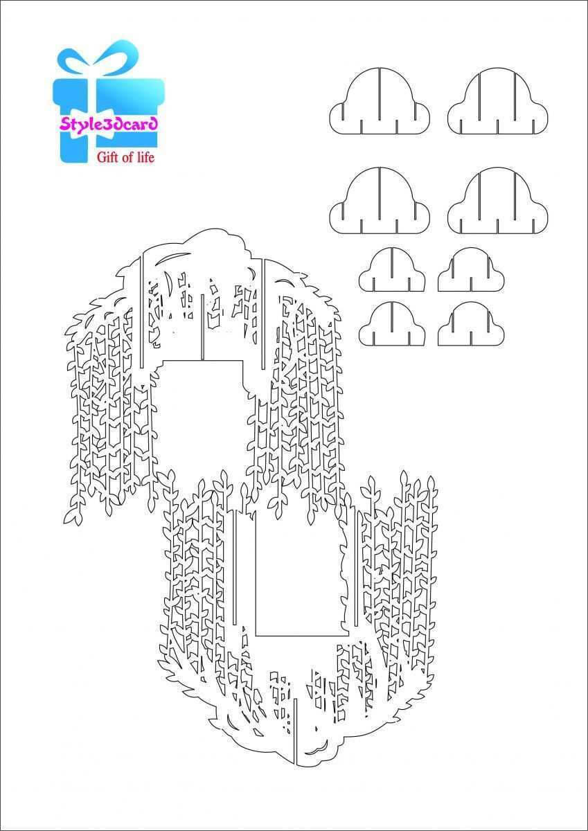 51 Free Pop Up Card Templates Tree Download For Pop Up Card Pertaining To Free Pop Up Card Templates Download