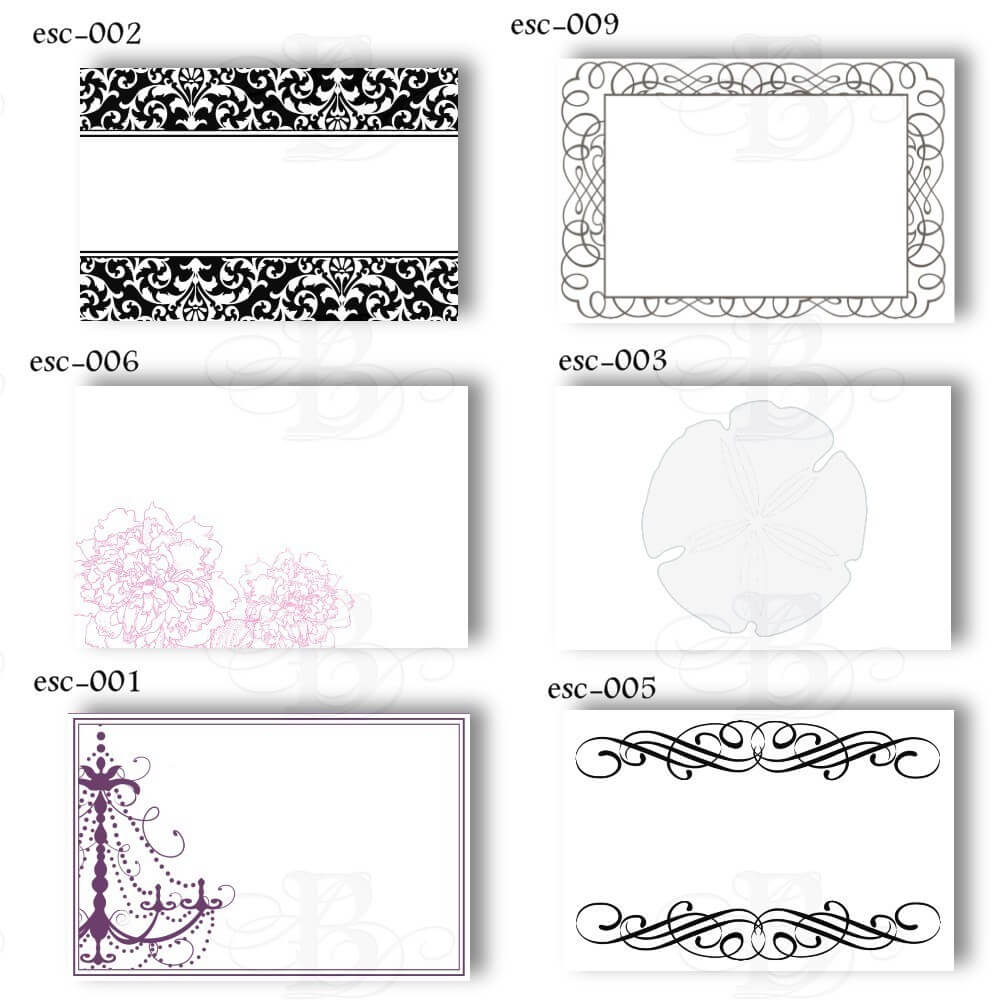 6 Best Images Of Free Printable Wedding Place Cards - Free Regarding Free Templates For Cards Print
