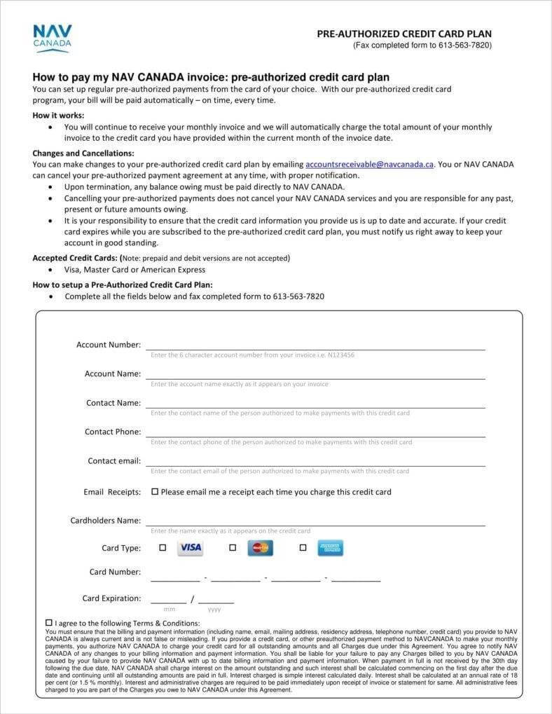 7+ Credit Card Receipt Templates - Pdf | Free & Premium Regarding Credit Card Receipt Template