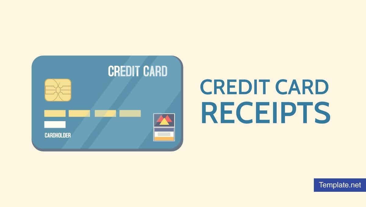 7+ Credit Card Receipt Templates - Pdf | Free & Premium With Credit Card Receipt Template