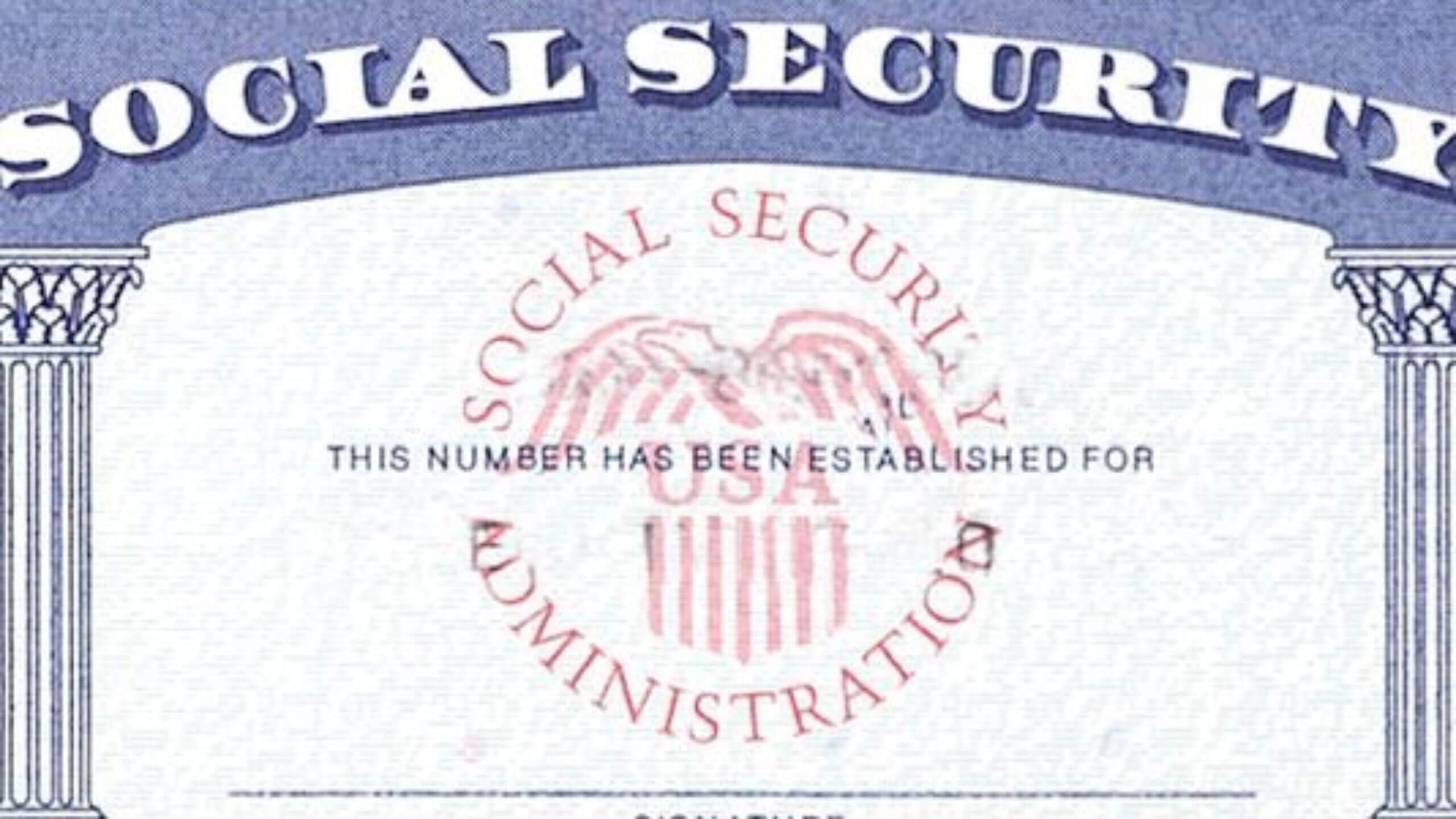 7 Social Security Card Template Psd Images - Social Security For Social Security Card Template Pdf