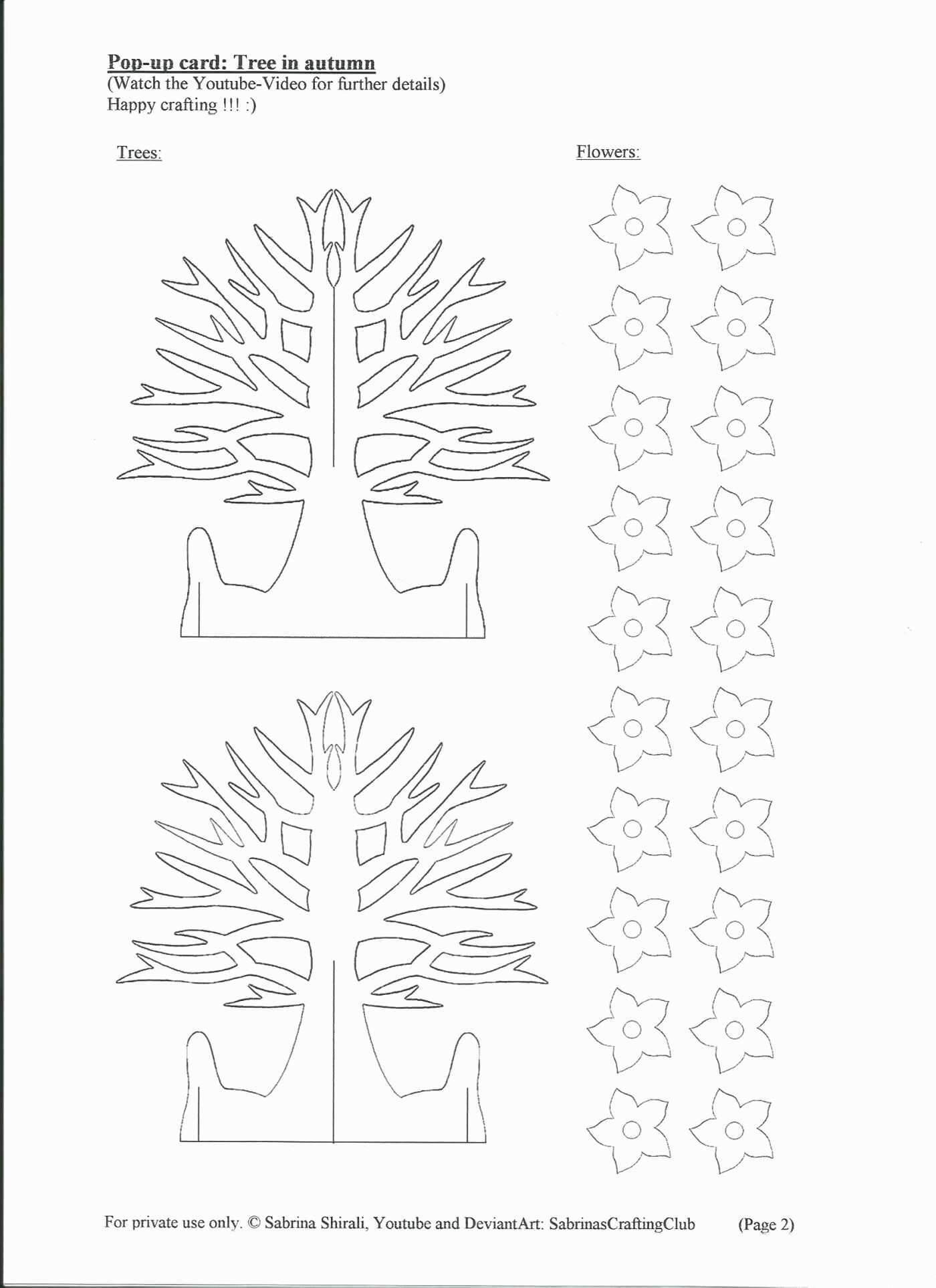 72 Free Printable Pop Up Card Templates Tree For Freepop Pertaining To Pop Up Tree Card Template