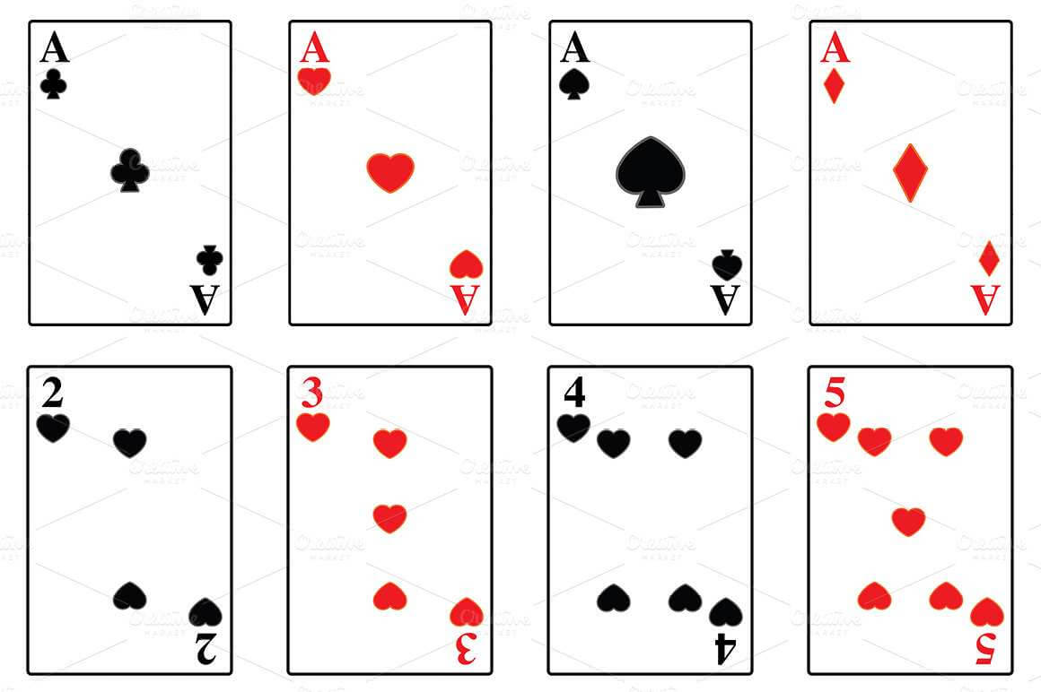 85 Format Playing Card Template Word Free In Word For Within Playing Card Template Word