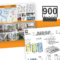 900 Place / 6 Panel Brochurevictor Suarez On Dribbble Intended For 6 Panel Brochure Template