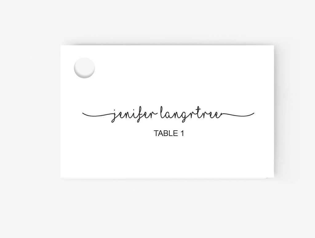 99 Free Printable How To Make A Place Card Template In Word With Regard To Ms Word Place Card Template