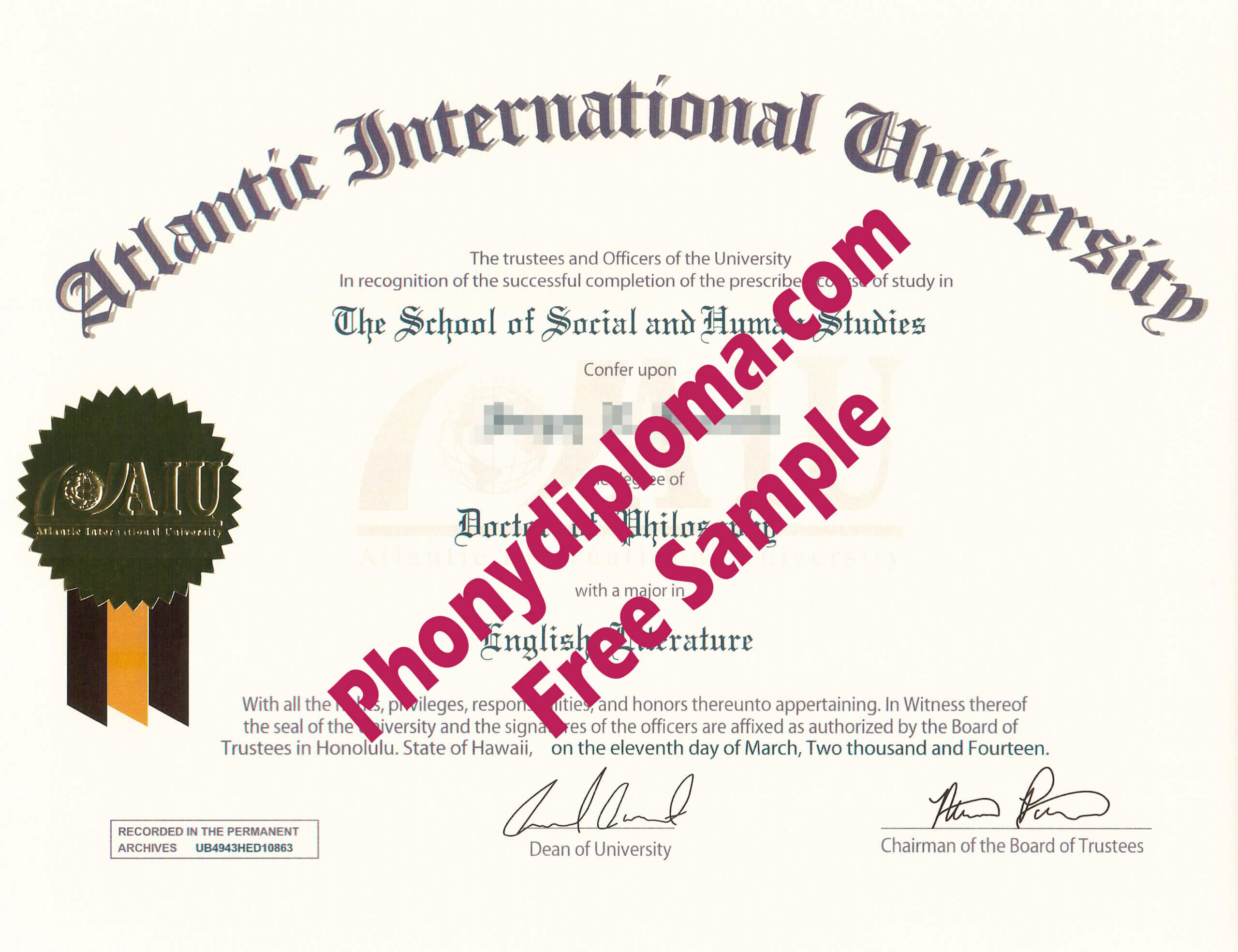 All Fake Diploma Samples In Usa - Phonydiploma With University Graduation Certificate Template