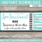 Any Occasion Spa Gift Vouchers – Colors Throughout Graduation Gift Certificate Template Free
