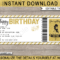Birthday Tattoo Gift Vouchers intended for Tattoo Gift Certificate Template