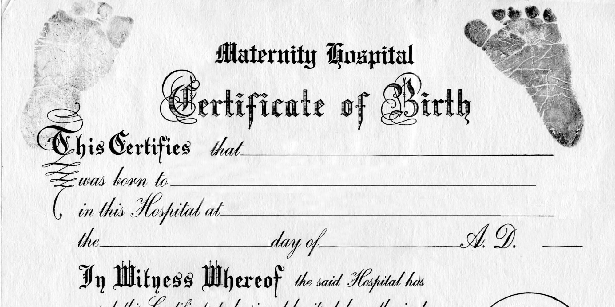Blank Birth Certificate Template For Elements Novelty Images Throughout Novelty Birth Certificate Template
