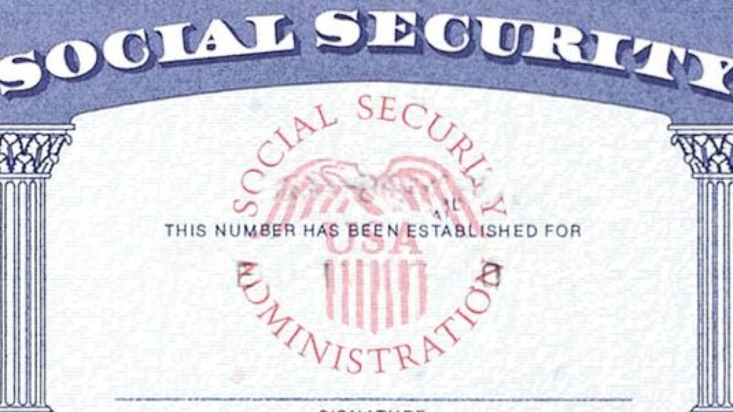 Blank Social Security Card Template Download - Great With Regard To Blank Social Security Card Template Download