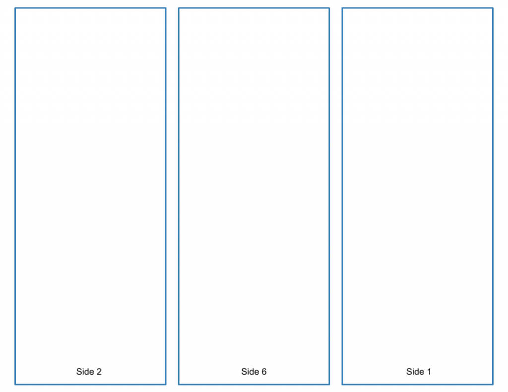 Blank Tri Fold Brochure Template - Google Slides Free Download Intended For 6 Sided Brochure Template