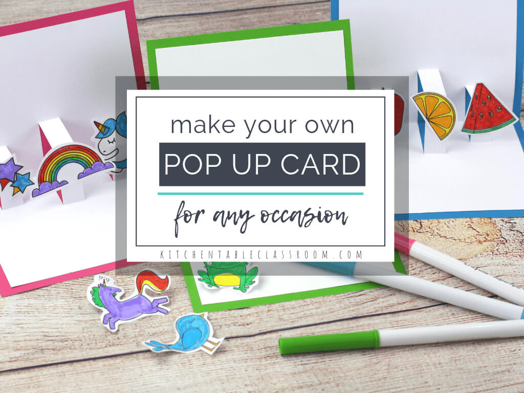 Build Your Own 3D Card With Free Pop Up Card Templates - The Inside Templates For Pop Up Cards Free