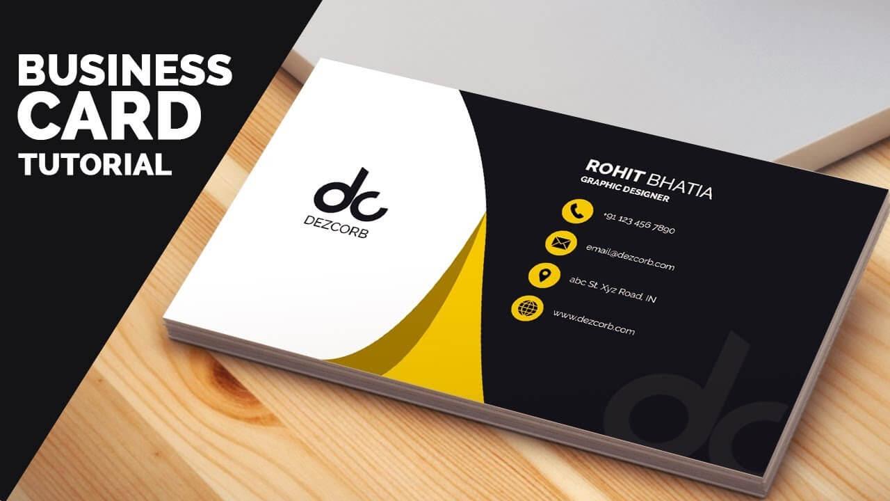 Business Card Design – Yeppe.digitalfuturesconsortium For Photoshop Cs6 Business Card Template
