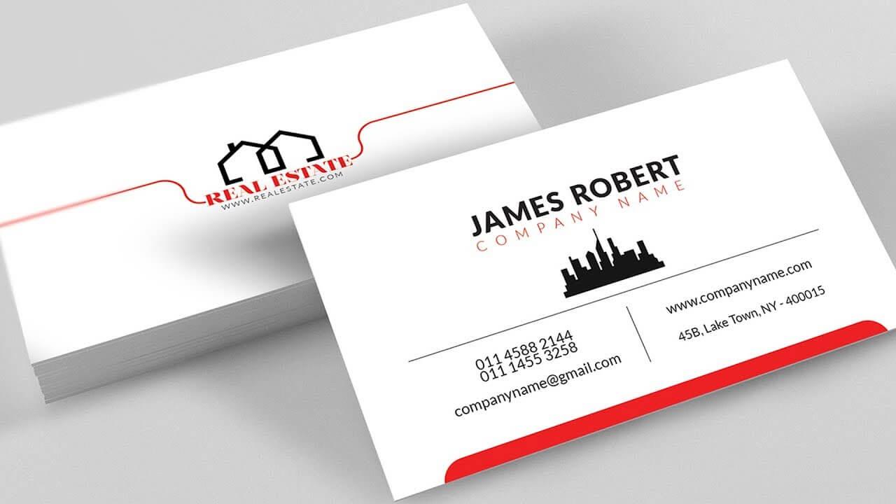 Business Card Template Illustrator – Dalep.midnightpig.co Regarding Visiting Card Illustrator Templates Download