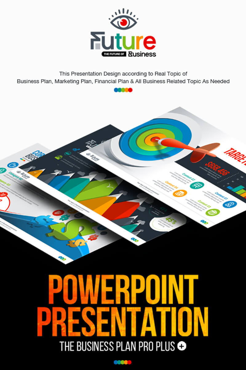 Business Plan Presentation | Animated Pptx, Infographic Design Powerpoint  Template With Powerpoint Presentation Animation Templates