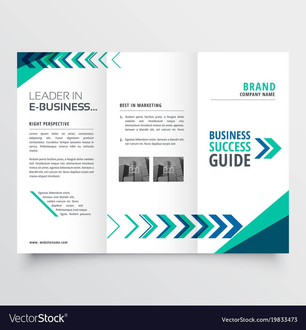 Business Tri Fold Brochure Template Design With Inside Free Tri Fold Business Brochure Templates