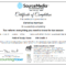 Certificate Examples – Simplecert Intended For Ceu Certificate Template