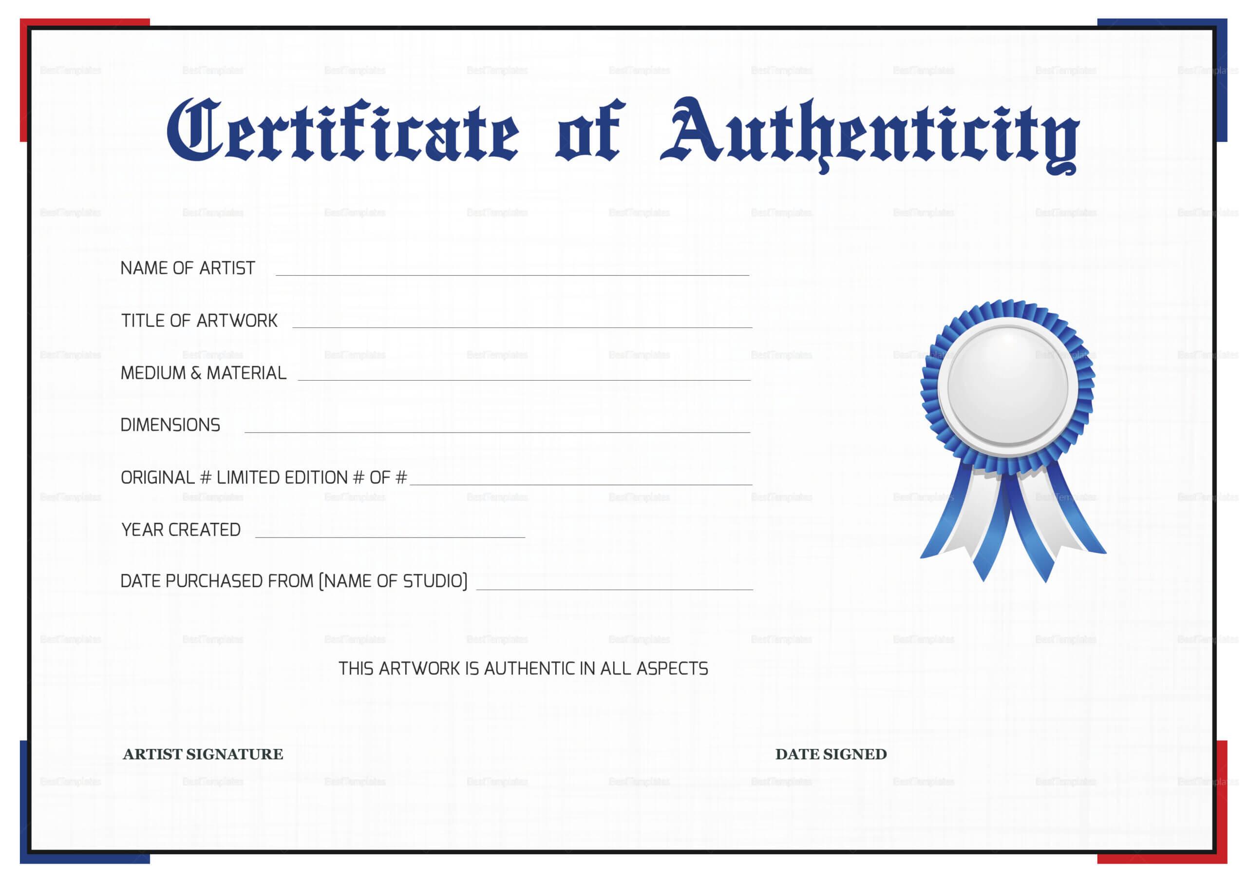 authenticity certificate template printable calep midnightpig artwork templates certification certificates regarding example participation gorgeous artists professional resume vancecountyfair unique emetonlineblog