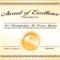 Certificate Template Award | Safebest.xyz throughout Sample Award Certificates Templates