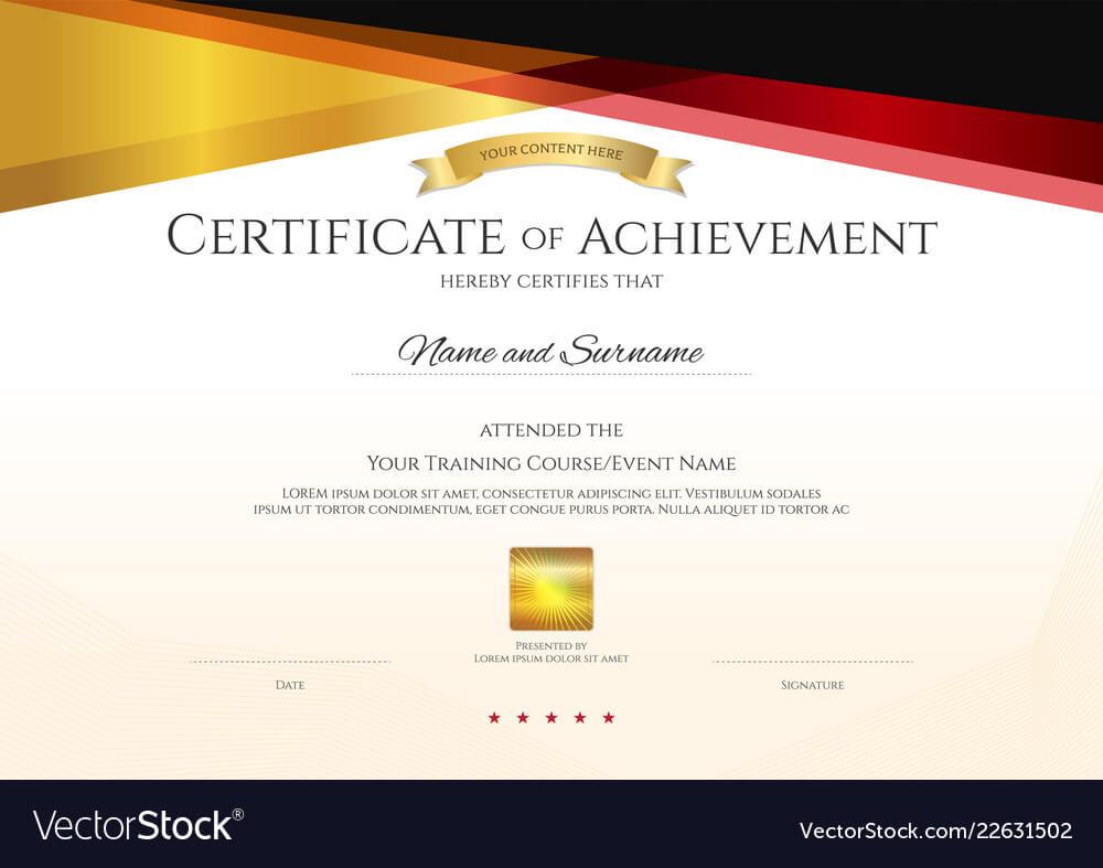 Certificate Template Design Free Download – Yeppe In Elegant Certificate Templates Free