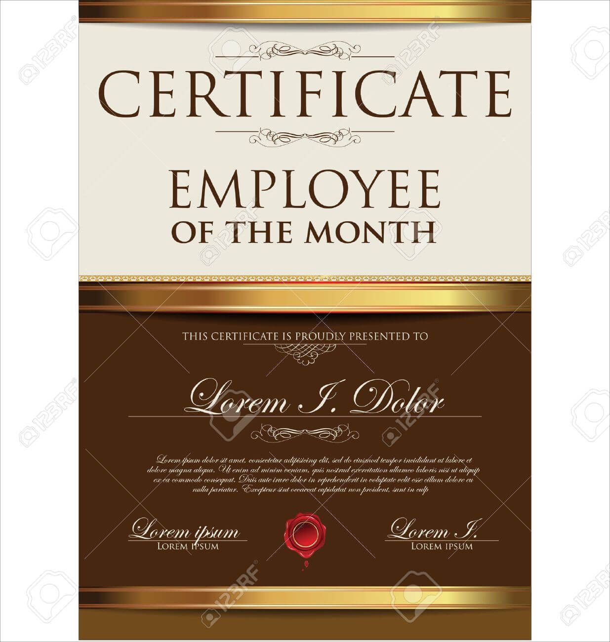 Certificate Template, Employee Of The Month Throughout Manager Of The Month Certificate Template