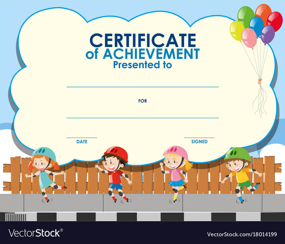 Certificate Template For Kids – Calep.midnightpig.co In Free Printable Certificate Templates For Kids