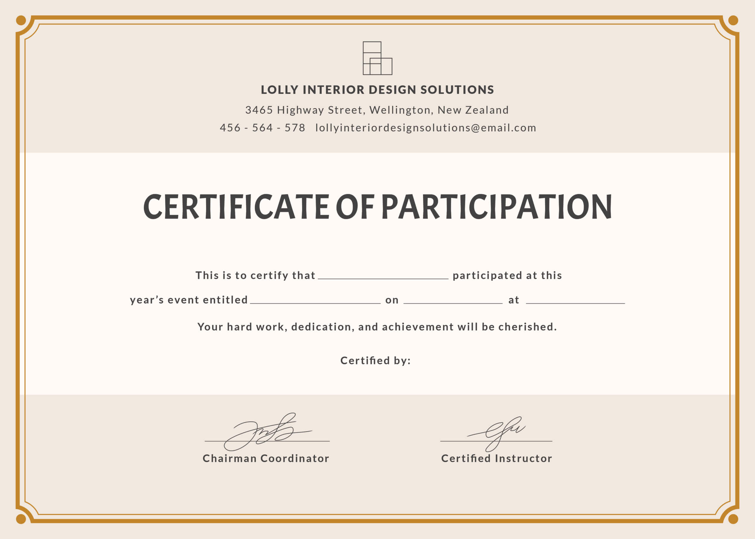 Certification Of Participation – Dalep.midnightpig.co Inside Hayes Certificate Templates