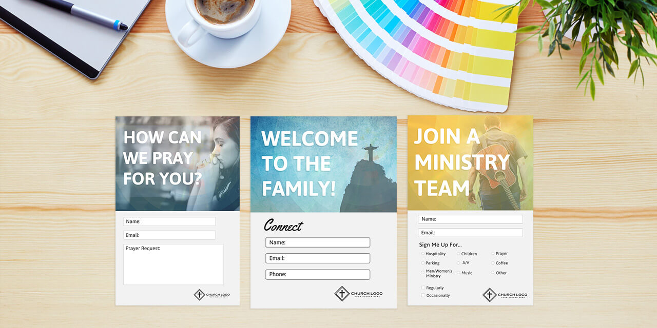 Church Contact Card Template – Dalep.midnightpig.co With Regard To Free Pledge Card Template