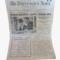 Clip Art Powerpoint Newspaper Templates – Newsprint With Newspaper Template For Powerpoint