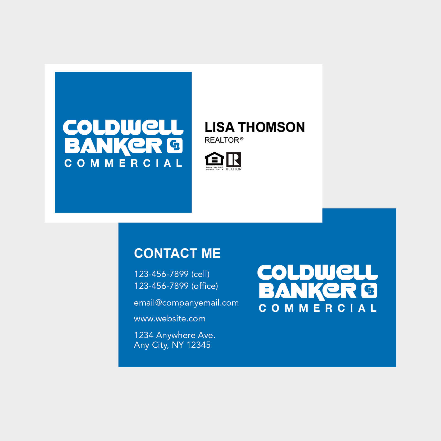Coldwell Banker Business Card Pertaining To Coldwell Banker Business Card Template
