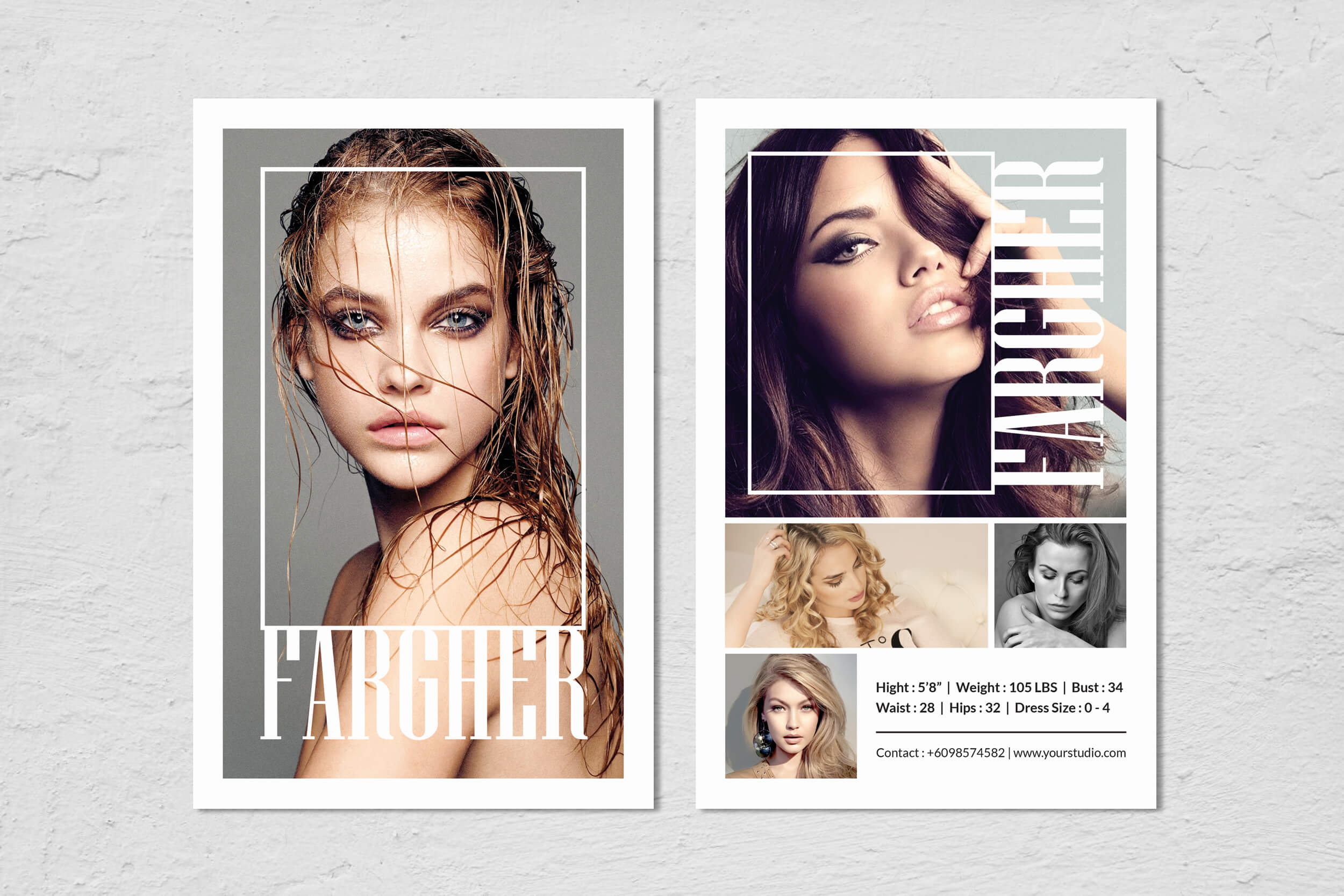 Comp Card Template - Calep.midnightpig.co In Zed Card Template Free