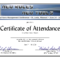 Conference Certificate Of Attendance Template - Great regarding Conference Certificate Of Attendance Template