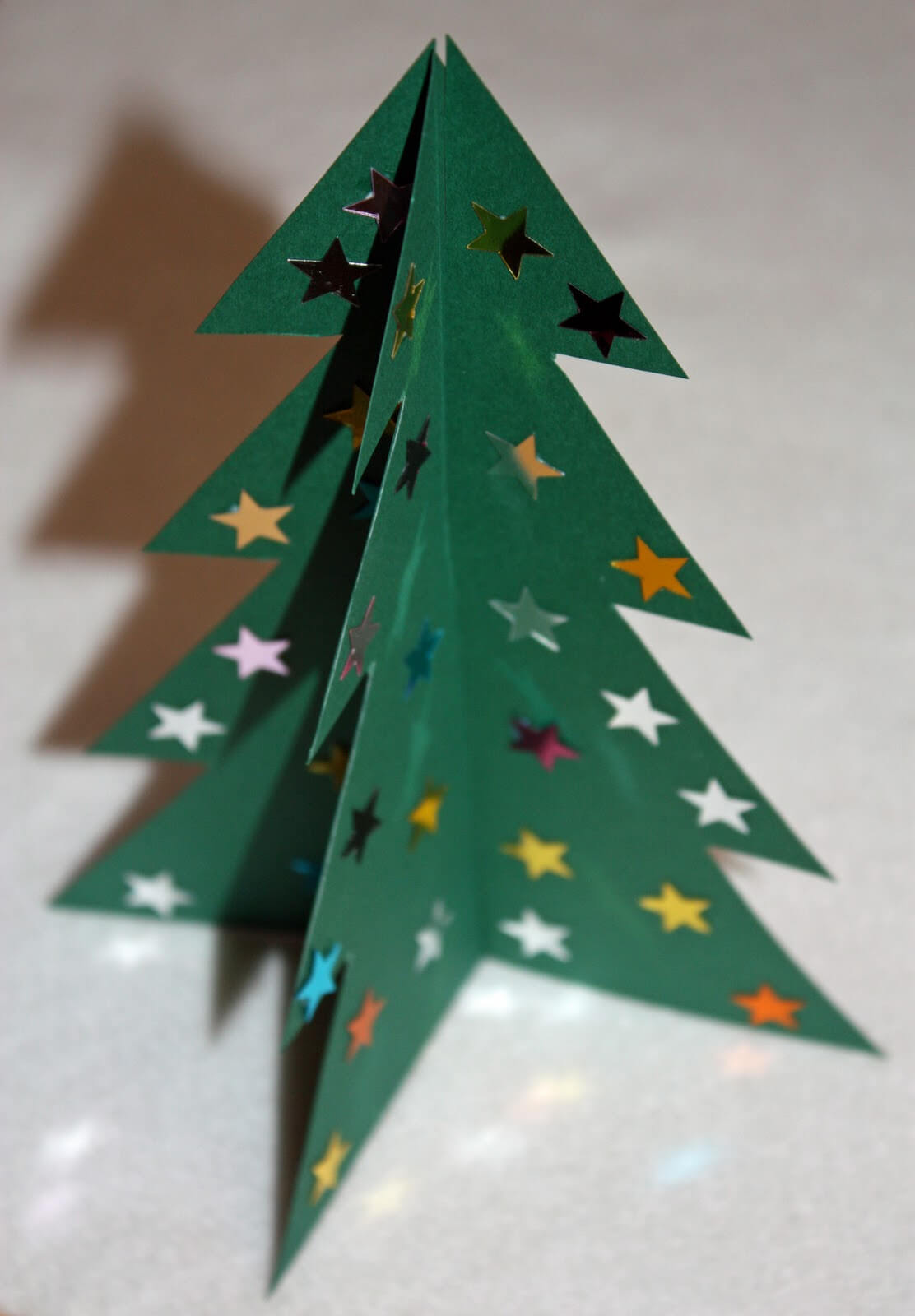 Craft And Activities For All Ages!: Make A 3D Card Christmas With Regard To 3D Christmas Tree Card Template