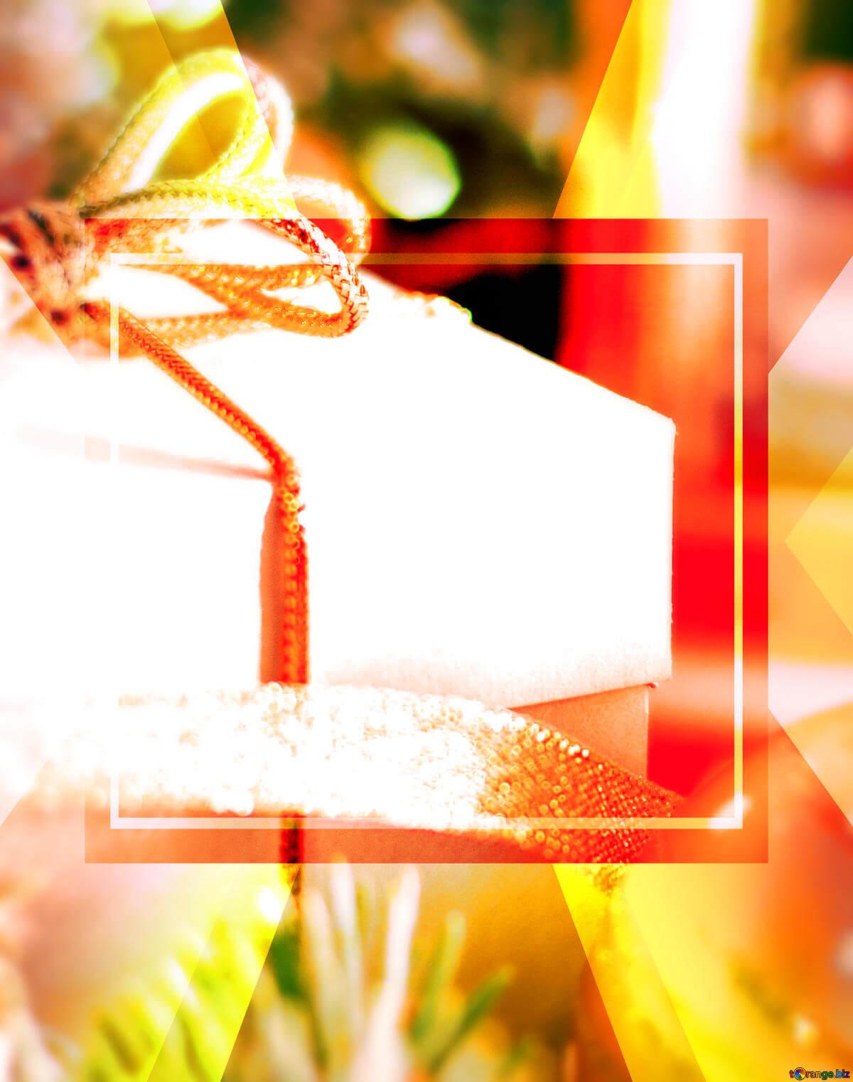 Скачать Бесплатно Картинку New Year Greeting Card Gift Throughout Greeting Card Template Powerpoint