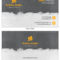 Dark Artist Business Card Template In Advertising Rate Card Template